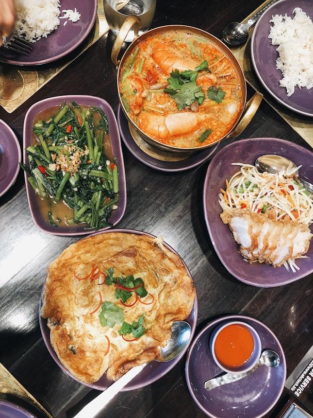 Authentic Thai Cuisine 500++THB pp