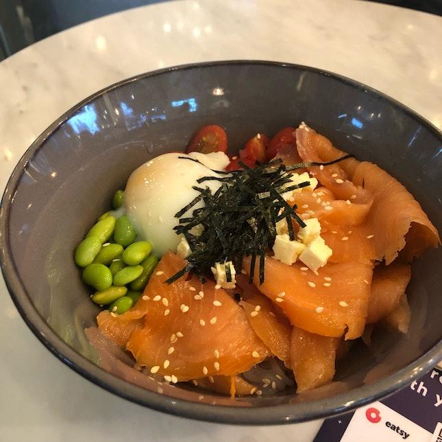 Salmon Shirataki Bowl ($13.90)
