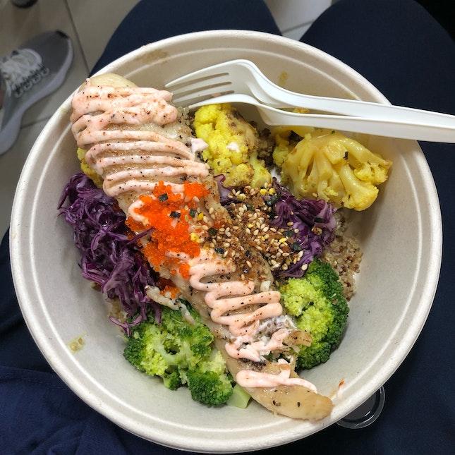 Mentaiko Fish with Quinoa ($14.90)