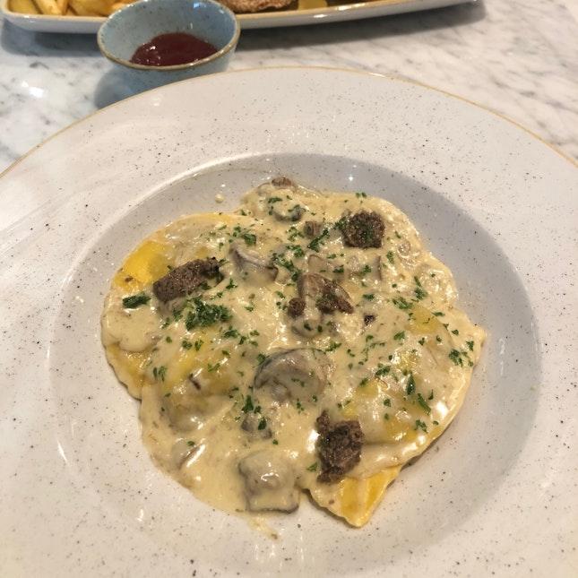 Truffle Ravioli ($24++)