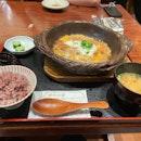 Hot Pot Pork Loin Katsu Set ($26++)
