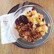 Mixed Fruit Yoghurt Bowl serves with Homademade Granola