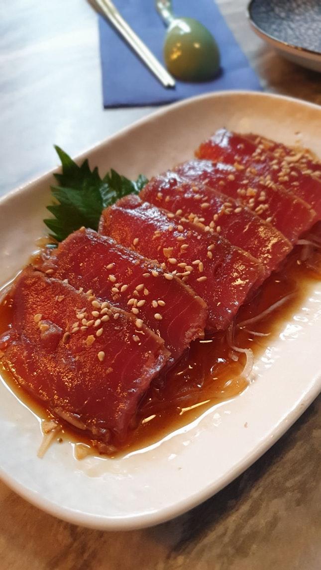 Tuna Tataki ($12)