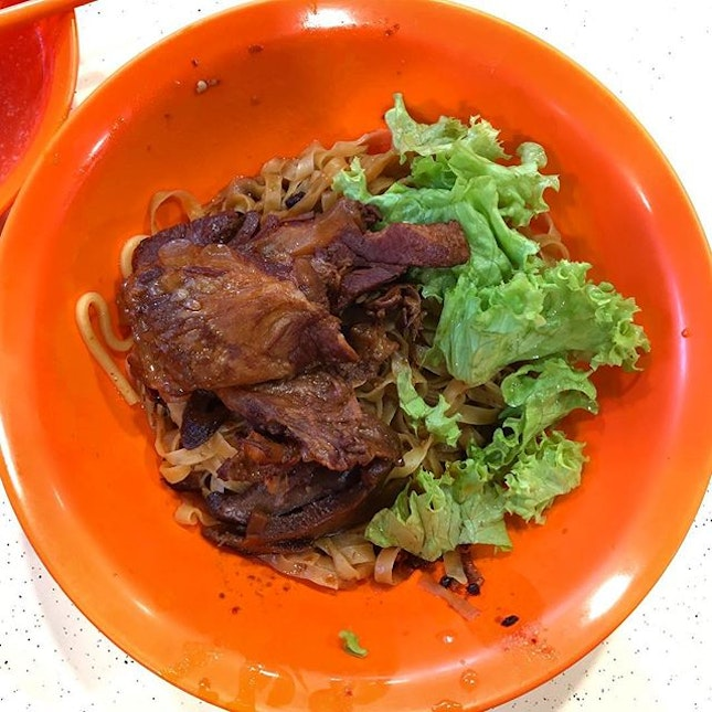 The noodles were pretty good but the ribs were abit too tough for my liking.