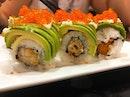 Care for some really fresh avocado ebi sushi?