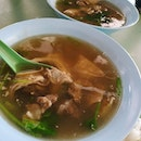 Weather is very hot, but both of us have craving for mutton soup.