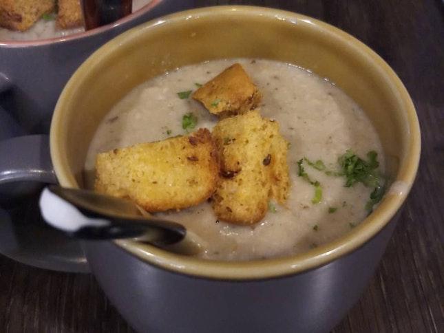 Mushroom soup ($6) 04/09/19