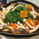 Bai Ling Mushroom w/ Spinach ($24 for Large)