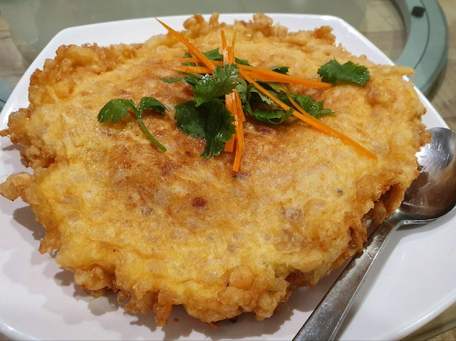 Special Chai Poh Omelette ($16 for Large)