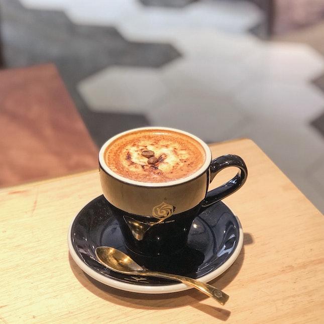 Creme Brûlée Latte