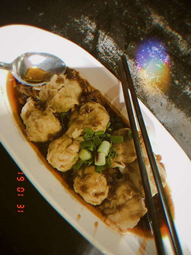 Chilli Oil Dumplings