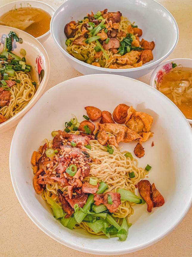 Regular Thai Wanton Mee, $5