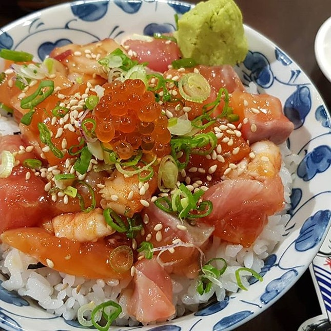 Bara Chrashidon  One if the recent fad of Japanese food is Chirashidon.