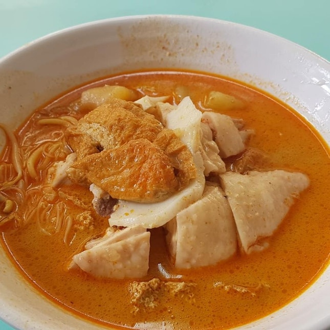 Ah Heng curry chicken noodle
