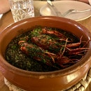 Black Rice w Grilled Mediterranean Prawns