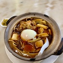 Claypot E-Fu Noodles