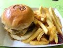 Double Classic Burger (S$7.4)