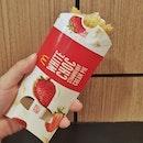 White Chocolate Strawberry Puff