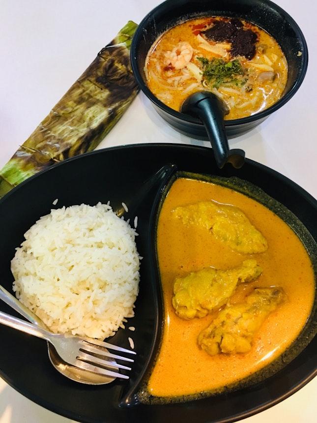Curry Chicken + Laksa