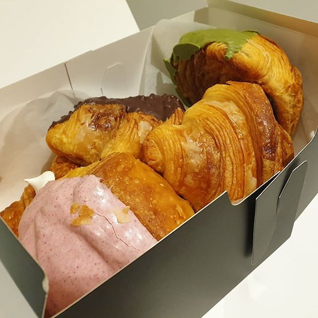 Chewy, Mochi Croissants by @brotherbird_bakehouse .