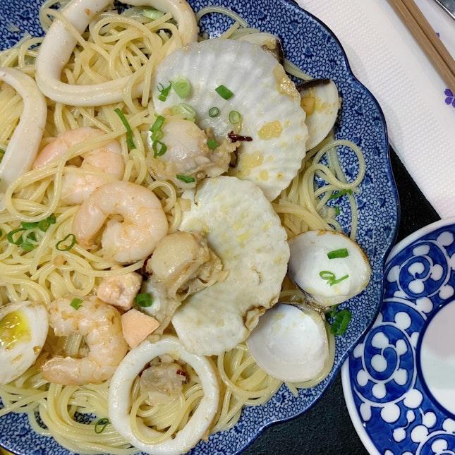 Hokkaido Seafood Pasta