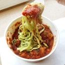 Tagliatelle puttanesca pasta from O Mamma Mia!