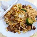 Pad Thai with beef from Thaksin beef noodles!