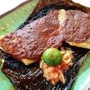 BBQ Sambal Stingray at Satay by the Bay!