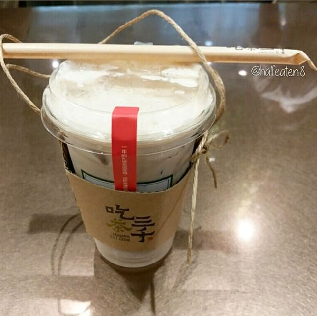 Ding Ding Oolong Milk Tea from Chicha San Chen!