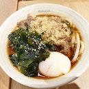 Sanuki Beef Egg Udon from Tamoya Udon!