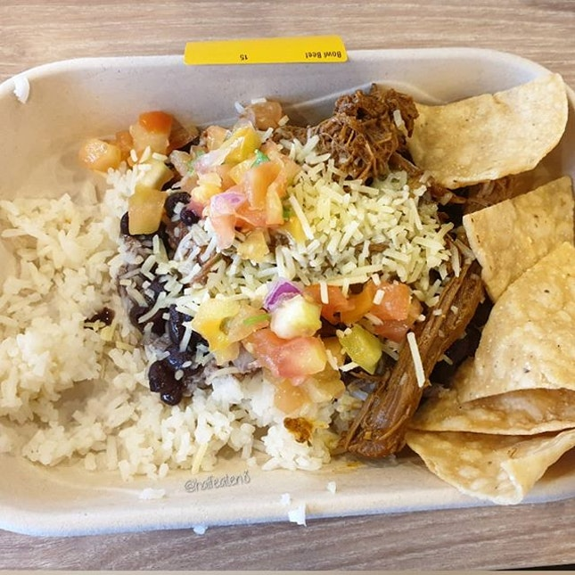 Beef Bowl from Guzman Y Gomez!