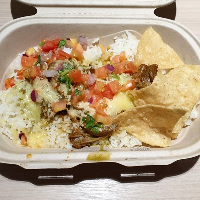 Beef Burrito Bowl from Guzman Y Gomez!