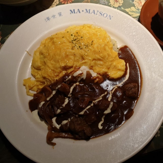 Beef Stroganoff with Butter Rice from Ma Maison!