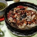 #cxyi @icedteholic claypot rice last night.