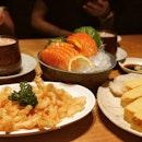 @icedteholic @yuyan.xiao #klyanaiai - 30th Aug 2019 - dinner at sushi tei cos no idea what to jiak at northpoint.