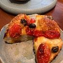 Tomato Olive Focaccia