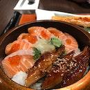 Unagi/Salmon Belly Set
