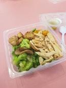 #BurppleBeyond Original DIY Salad 👎🏽