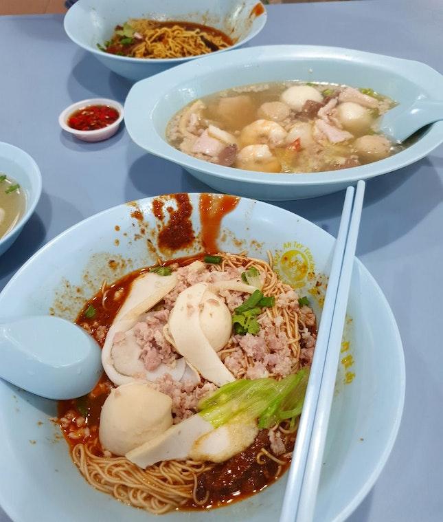 Ah Ter's Teochew Fishball Noodles!