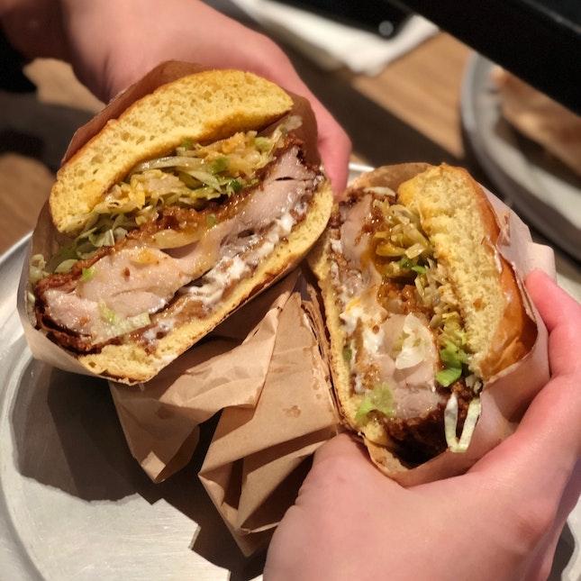 Fried Chicken Sanwich