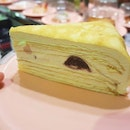 Have you tried Sushi Express's crepe cake?