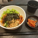 Spicy Bibim noodle!
