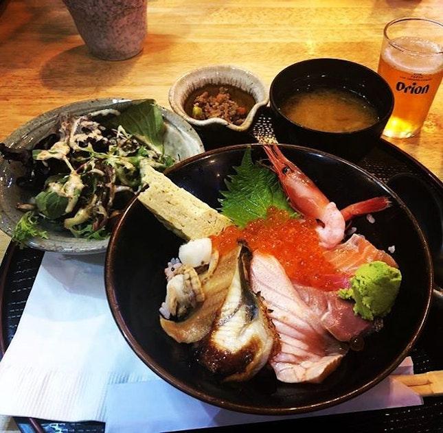 Chiraishi Lunch Set 👍🏻👍🏻👍🏻👍🏻 $20++ .