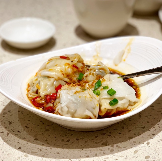 Pork Wanton in Chili Vinaigrette ($6.20)
