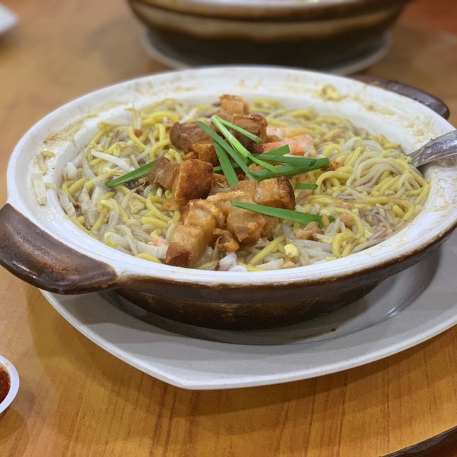 Claypot Hokkien Mee ($15 for 3 Pax)