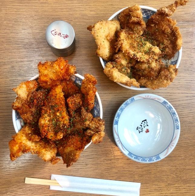 Chicken And Pork Katsudon