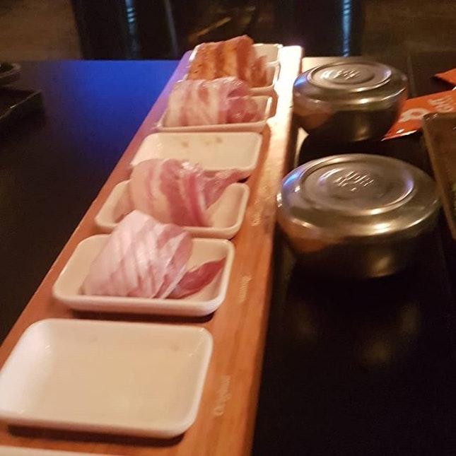 #팔색삼겹살  8 Colours (Mangalica Pork Belly) Set.