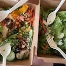 Salad + dessert