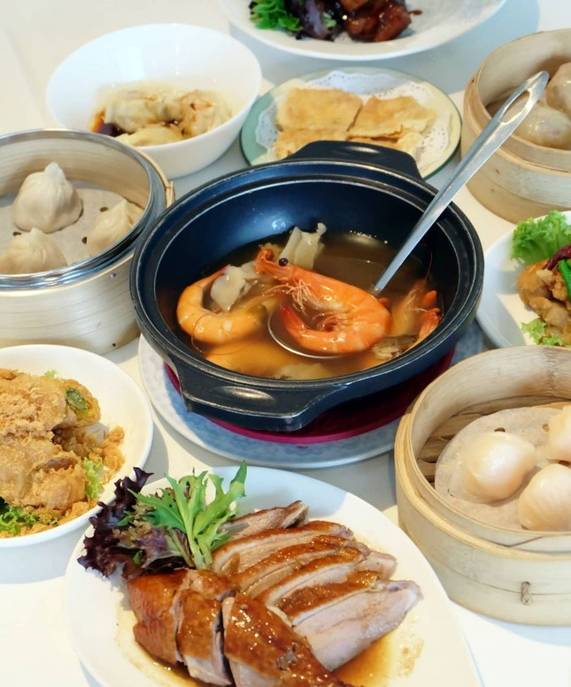 All You Can Eat Dim Sum Buffet