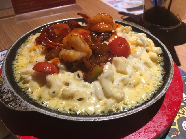 MAC & CHEESE With Shrimp